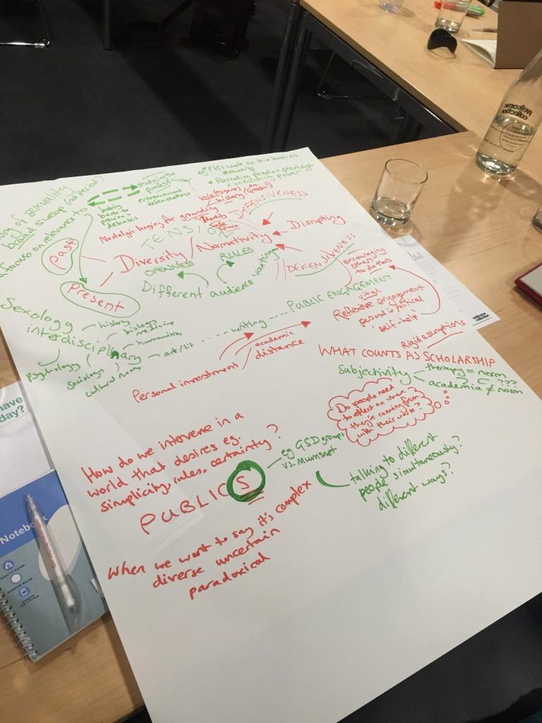 Sexual Knowledge Workshop London Map Image Jen Grove